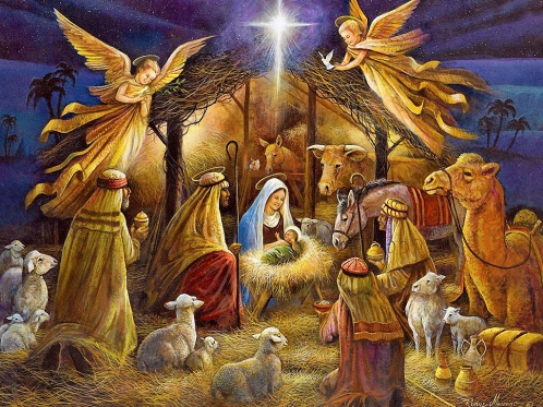 Nativity Wallpaper