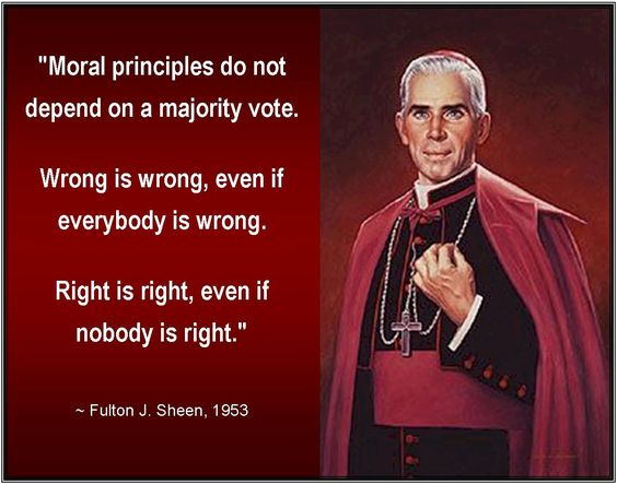 Bishop Sheen Quotes: February 5, 2017 « St. Anthony